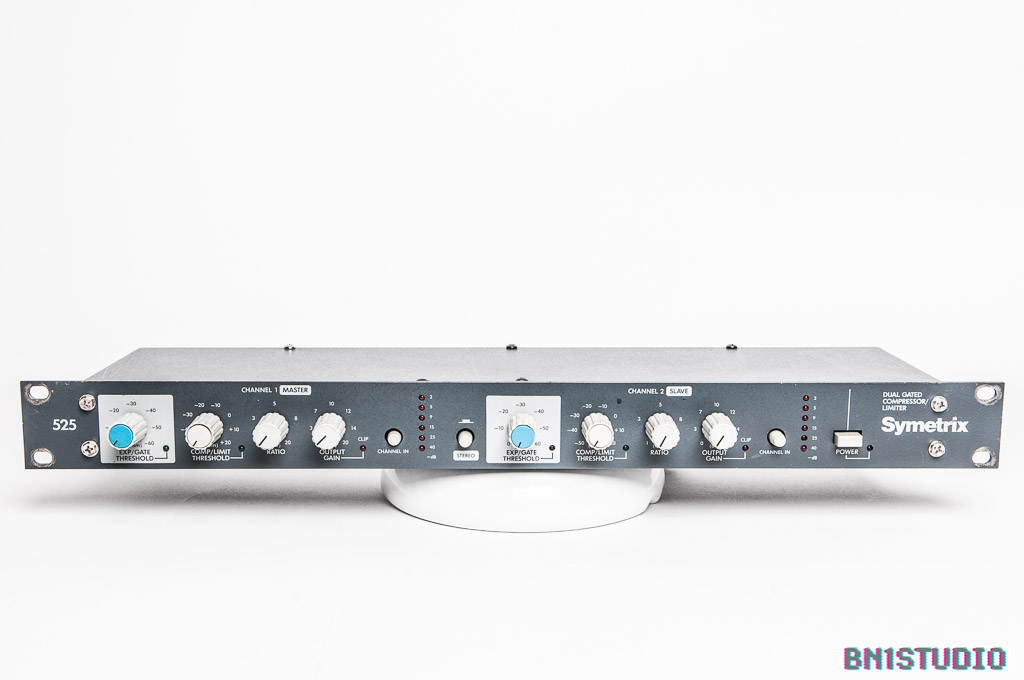 Symetrix 525 Stereo Compressor / Limiter / Gate (Refurbished