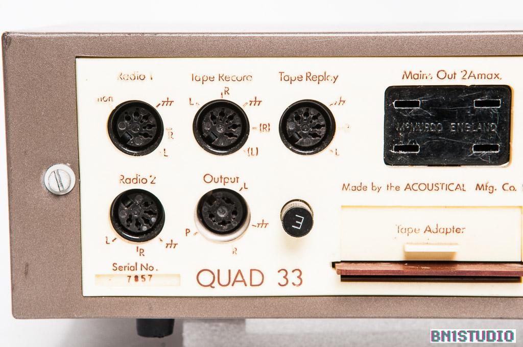 Quad 33 Preamplifier